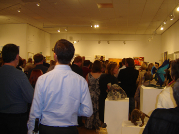 David Shepherd Wildlife Artist of the Year 2011 Exhibition - Private View