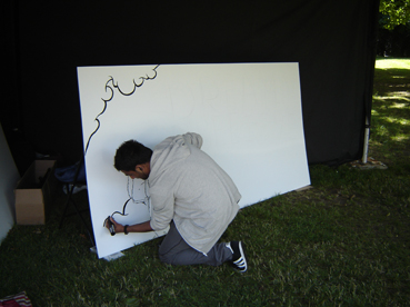 Live Art at the London Youth Games